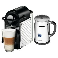 Nespresso Pixie Espresso Machine Bundle