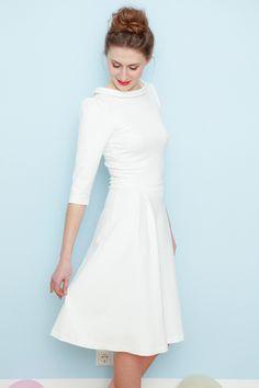 Brautkleider - Brautkleid Star cremeweiß - ein Designerstück von Cordelia-Baethge bei DaWanda