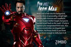 Which Avengers character are you? --- Sorry for spamming these quiz results, but I freakin love these things and I want to know what you guys get :)