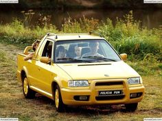 Skoda Felicia Fun The Škoda Felicia is a small family car produced by the Czech automaker Škoda Auto between 1994 and 2001 - 2001 for the. Car Images, Car Wallpapers, Felicia, Pickup Trucks, Cars, Fun, Offroad, Evolution, Passion