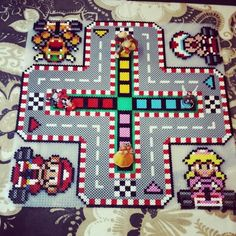 "56 Likes, 4 Comments - RETRO Games Leipzig (@retro_games_leipzig) on Instagram: ""Mario Kart ärger dich nicht. #hama #beads #hamalove #bügelperlen #bead #beadsart #retrogamer…"""