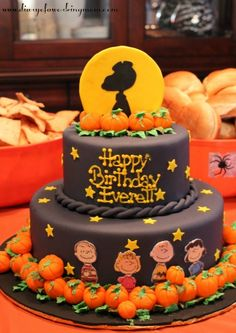 Charlie Brown and the Great Pumpkin Cake