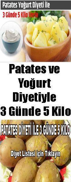 #patates #diyet #rejim #zayıflama #3gunde5kilo #yoğurt