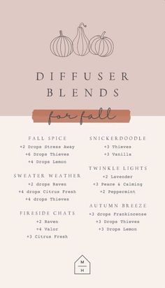 Fall Essential Oils, Essential Oil Diffuser Blends, Young Living Essential Oils, Doterra Diffuser, Terra Oils, Diy Lotion, Yl Oils, Diffuser Recipes, Oil Candles
