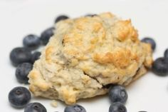 Jennifer Esposito's Gluten-Free Blueberry Walnut Scones