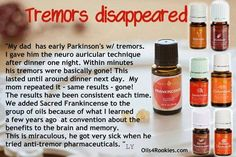 parkinsons tremors To learn about Young living Oils visit http://www.youngliving.com