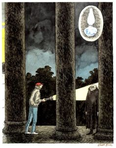 The Lamp from the Warlock's Tomb. Edward Gorey.
