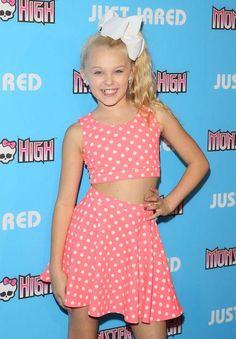 JoJo Siwa from Dance Moms at the Just Jared's ThrowBack Thursday Party on March 26, 2015...