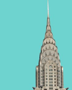 Chrysler Building NYC Architecture City Series by HeyImWalkinHere