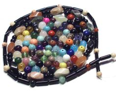 Destash Lot of 3.6 Oz. of Mixed Gemstone and by BeadsFromHaven, $4.50