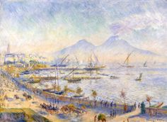 The Bay of Naples, Renoir 1881, Fade Resistant HD Art Print in Art, Prints   eBay
