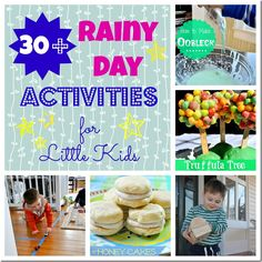 Definitely using these ideas when the weather has been so blah outside!