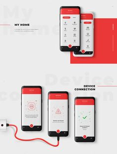 santander banking Home X / Smart home application on Behance Web Design, App Ui Design, Interface Design, User Interface, Graphic Design, Smart Home Design, App Design Inspiration, Design Ideas, Mobile Ui Design