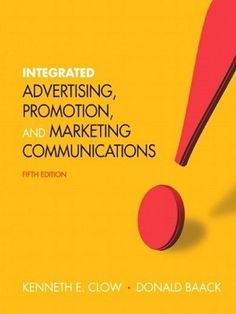 Free test bank for integrate marketing communication 4th edition by for students of marketing who really want to learn about advertising promotion and marketing communication for fandeluxe Gallery