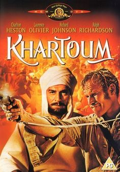 "Directed by Basil Dearden, Eliot Elisofon.  With Charlton Heston, Laurence Olivier, Richard Johnson, Ralph Richardson. After an Egyptian army, commanded by British officers, is destroyed in a battle in the Sudan in the 1880's, the British government is in a quandary. It does not want to commit a British military force to a foreign war but they have a commitment to protect the Egyptians in Khartoum. They decide to ask General Charles ""Chinese"" Gordon, something of a folk hero in the Sudan as…"