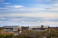 Seaside Modern: Genius Loci Residence by Bates Masi Architects, situated along the banks of Montauk, New York