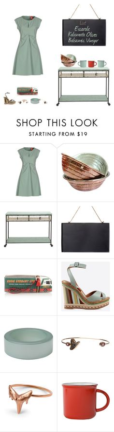 """""""Raphine"""" by southernreef ❤ liked on Polyvore featuring moda, MICHELLE WINDHEUSER, Dot & Bo, Anya Hindmarch, Valentino, First People First, Dezso by Sara Beltrán ve Bijoux Coquette"""