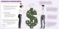 Siga estos tips y no deje que las finanzas afecten su vida en pareja