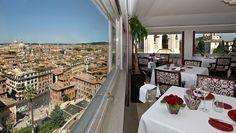 Ristorante romantico Roma | Ristorante terrazza Roma | Aroma Roma ...