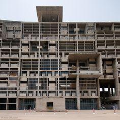 LeCourbusier Secretariat, Chandigarh