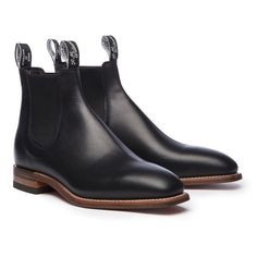 Natural Craftsman Natural Sole Made-to-Order Black Shoe Boots, Suede Boots, Leather Boots, Boots Online, Dress With Boots, Casual Boots, Leather Men, Chelsea Boots, Craftsman
