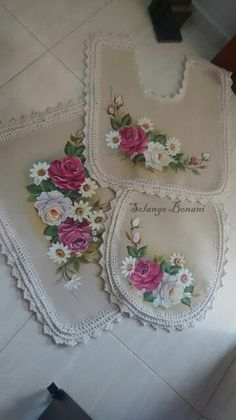Silk Ribbon Embroidery, Hand Embroidery, French Country Bedrooms, Mole, Fabric Painting, Sewing Hacks, Pattern, Fun, Stuff To Buy