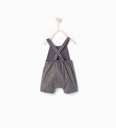 Image 2 of Romper suit with braces from Zara