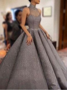 Light grey prom dresses, long prom dresses, Prom Dresses Ball Gown, Vintage Prom Dresses sold by Handmade Dress. Shop more products from Handmade Dress on Storenvy, the home of independent small businesses all over the world.