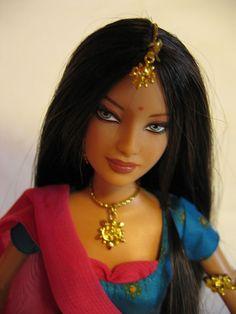 Diwali� Barbie� Doll