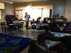ExitTicket in action at a 5th Grade class at Charter School Learning Without Limits, Oakland, CA