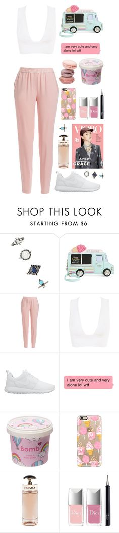"""""""Unbenannt #2094"""" by avonearth ❤ liked on Polyvore featuring Forever 21, Kate Spade, DKNY, NIKE, Cloud 9, Casetify, Prada and Christian Dior"""