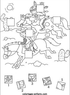 Cowboy Theme, Cowboy And Cowgirl, Gross Motor Activities, Preschool Activities, Native American Crafts, American Indians, Preschool Rules, Sequencing Cards, Hidden Pictures