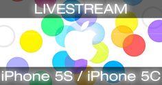 """Livestream Apple iPhone 5S / iPhone 5C Keynote - http://apfeleimer.de/2013/09/livestream-apple-iphone-5s-iphone-5c-keynote - Ein Livestream der Apple iPhone 5S Keynote Live vom iPhone Event des Jahres 2013? Apple hält am 10.09.2013 um 19 Uhr MESZ das Apple iPhone 5S / 5C Event """"zuhause"""" in Cupertino. Noch ist ein Live-Stream der Apple Keynote für AppleTV und Safari nicht bestätigt, allerdings rechnen wir fe..."""