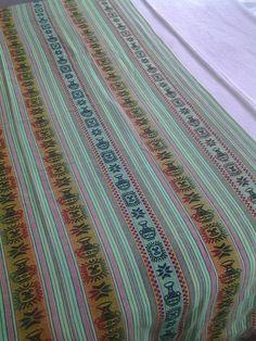 art 017-Aguayo de 2.40 x 1.20 cm aprox  # verde fluo, hay variedad de colores. Consultas: almaikieta.deco@gmail.com o por correo interneo de facebook