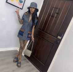 Girls Summer Outfits, Dressy Outfits, Dope Outfits, Summer Girls, Girl Outfits, Fashion Outfits, Party Fashion, Pretty Hairstyles, Givenchy