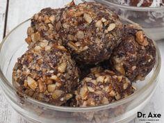 Raw Brownie Bites Recipe by @draxe