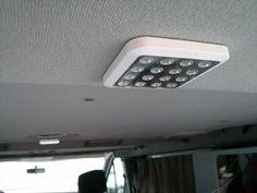 Eclairage LED Osram QOD ultra plat et puissant - aménagement camion - Trafic II Passenger 2007 L1H1 5/2p Wkend/Vacances Surf/Vélo