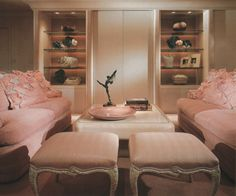 Pink Furniture From Showcase of Interior Design: Pacific Edition (1992)