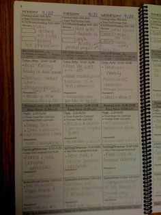 Definitely going to make my own plan book like this...