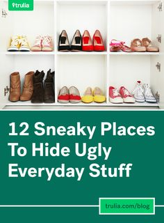 12 Sneaky Places To Hide Ugly (But Necessary) Everyday Stuff