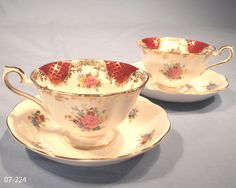 Tea Cups and Saucers | ... Empress Catherine Tea Cups and Saucers – Sold: Collectable-China