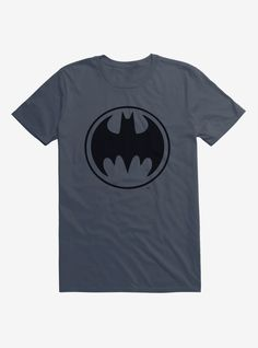 Batman Dripping Wall Bat Logo DC Comics Licensed Adult T Shirt