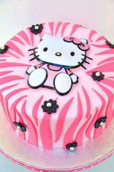 Hello kitty sweets... I think I could manage this kind of zebra print... definitely going to try to avoid much black! Maybe light pink with a bright purple. Lo would Love that!