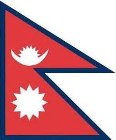 Nepal has a completely unique flag shape from any other country.