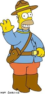 named after his father,  Homer Groening, who is Canadian