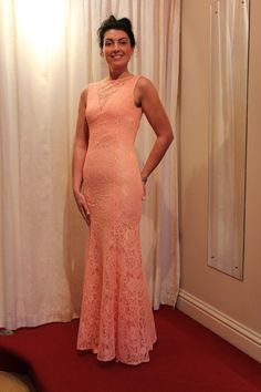 Peach lace mermaid prom dress just arrived Peach Prom Dresses, Mermaid Prom Dresses Lace, Lace Mermaid, Brighton And Hove, Online Boutiques, Formal, Wedding, Fashion, Preppy