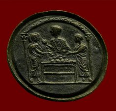 The coin depicts a banking or money-changing scene (note the presence of women). London, British Museum. Credits: Barbara McManus, 2006