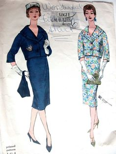 Vogue Couturier Dress Pattern No 164 Vintage by CaliforniaSunset, $25.00