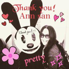 大好きなAnnさんがFacebookフレンドになってくれました(^o^) なんてVery happyな日なんだろう #AnnLewis #Facebook #友達#プリティーと言えばAnnさん