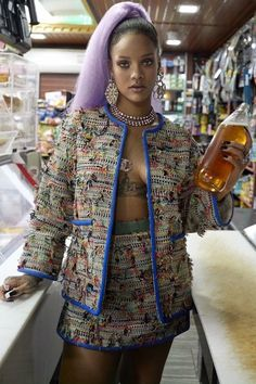 Rihanna, BreakTheRules, cover shoot, Papermag, Paper magazine, 2017